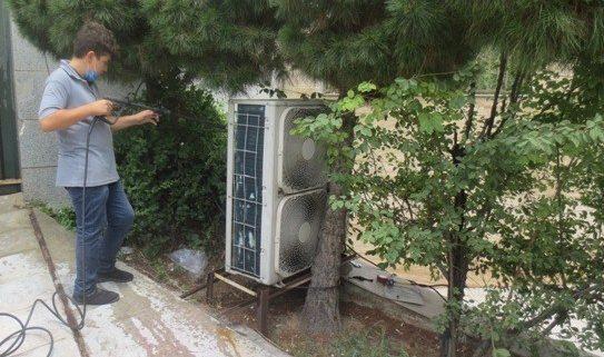 تعمیر کولر گازی منطقه 14 تهران